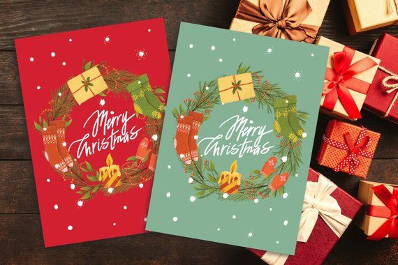 Top 15 Printable Christmas Greeting Cards