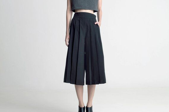 Pleated all, from skirts to shorts. Trend come back!
