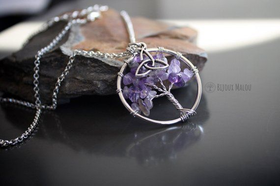 Amethyst - February birthstone. 20+ Top gift lists
