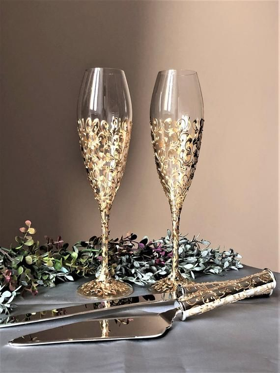 20+ Wedding glasses for perfect romantic celebration