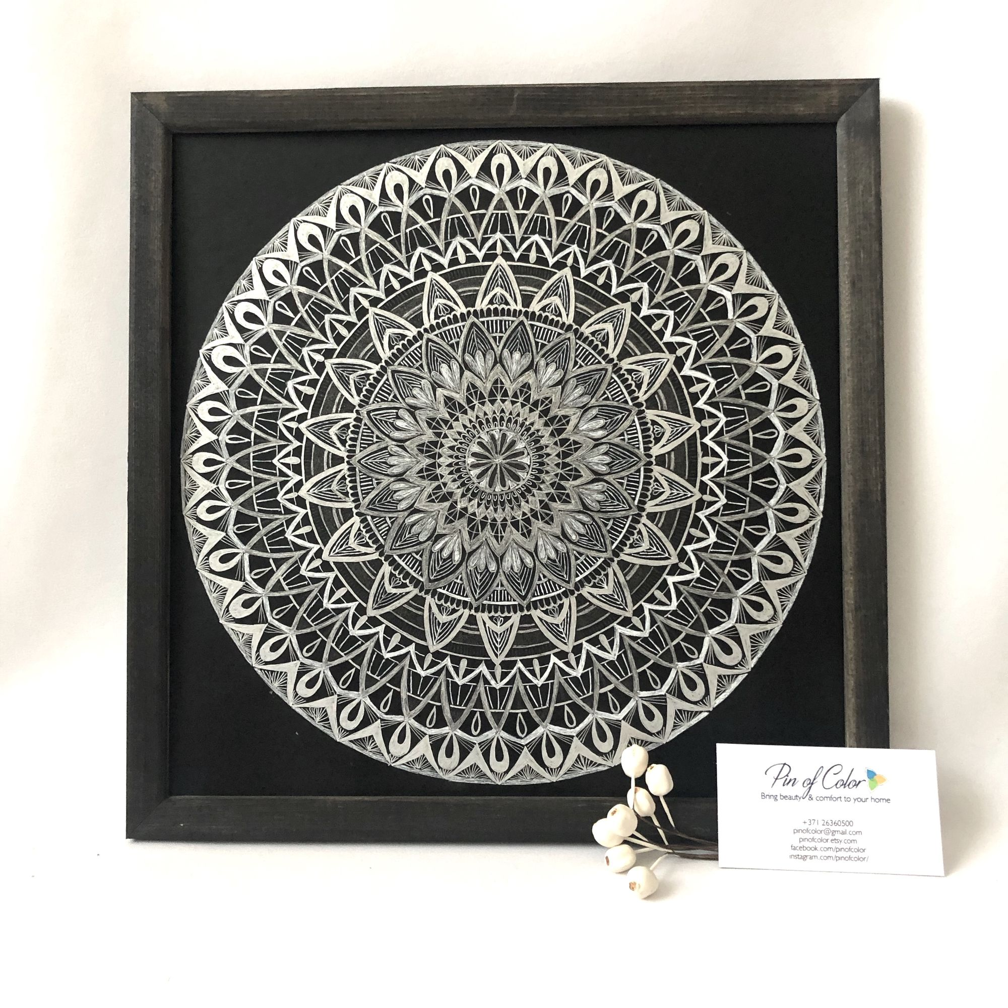 Part 3: Mandala drawing. Your way to handmade excellence and a world of DIY