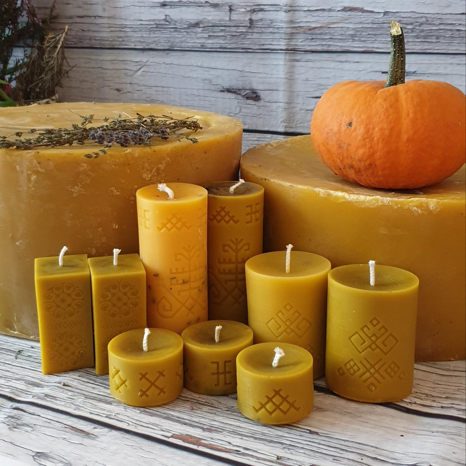 Beyond the light. Explore types of candles